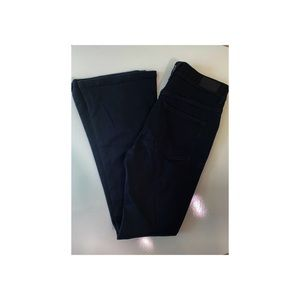Express Button Fly High Waisted Slim Flare Bottoms